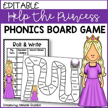 Princess Reading Game