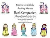 Princess Social Skills/Auditory Memory Book Companion