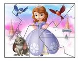 Princess Sofia Jigsaw Puzzle Reward for the VIPKID Classroom