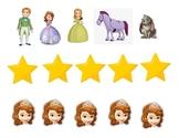 Princess Sofia Themed Find-A-Star Reward for the VIPKID Classroom