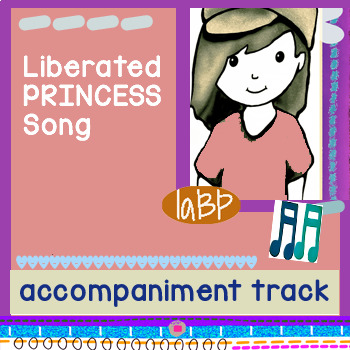 Princess Song accompaniment track: full band studio recording