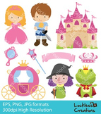 Princess Story Digital Clip Art