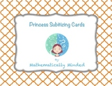 Princess Subitizing Cards - Dot Patterns and Ten Frames