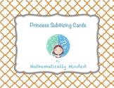 Princess Subitizing Cards - Dot Patterns and Ten Frames