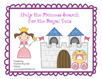 Princess Tens Partner Game - Sums of Ten