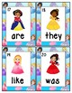 Princess Themed Sight Word Write the Room
