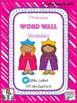Word Wall Vocabulary (Princess Theme)
