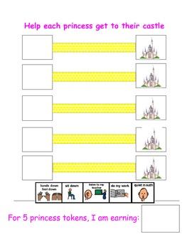 Princess Token Board