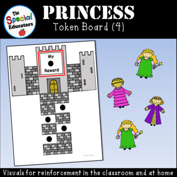 Princess Token Board (4)