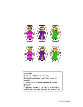 Princess Token Board (6)