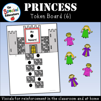 Princess Token Board (6)