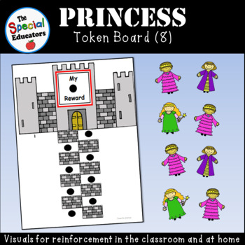 Princess Token Board (8)