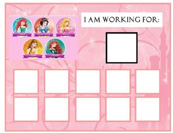 Princess Token Boards