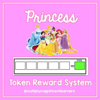 Princess Token Reward System Pack