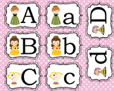 Princess Uppercase and Lowercase Match