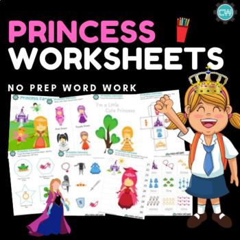 Princess Worksheets