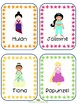 Princess Writing Prompt Word Cards for IKEA TOLSBY frames
