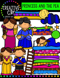 Princess and the Pea {Creative Clips Digital Clipart}