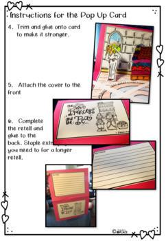 Princess and the Pea - English, Math and Craft (K-1)