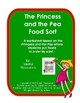 Princess and the Pea Food Sort by Size