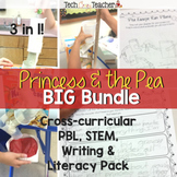 PBL, STEM, Literacy, & Writing: Princess and the Pea Bundle