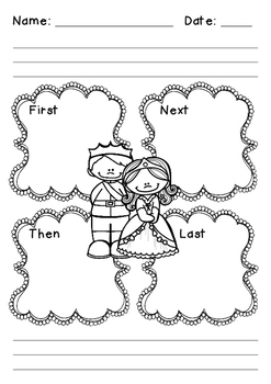 Princess and the Pea Paragraph Writing