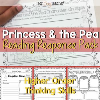 HOTS Reading Response Sheets: Princess and the Pea