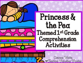 Princess and the Pea Themed Comprehension Activities for F