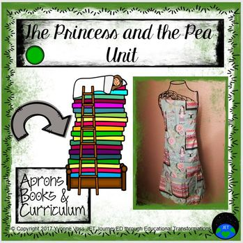 Princess and the Pea Unit (Literacy and Math Activities)