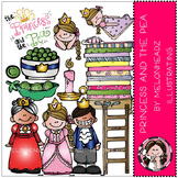 Princess and the Pea clip art - COMBO PACK- by Melonheadz