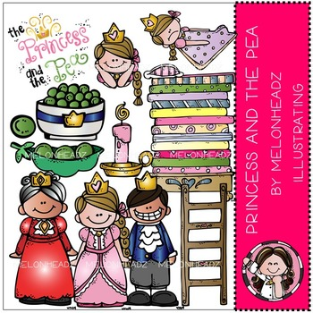 Princess and the Pea by Melonheadz COMBO PACK