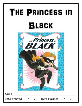 Princess in Black book 1 independent reading comprehension resource
