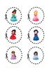 Princess scissor skills pages