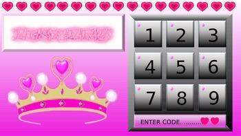 Princess themed interactive plenary game