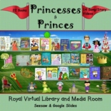 Princesses & Princes Royal Virtual Library & Media Room -