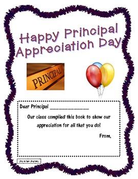 Principal Appreciation Activity
