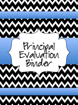 Principal Evaluation Binder -OPES- Ohio Principal Evaluation System--updated