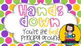 Principal Gift Tag | Hands Down