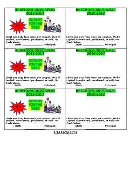 Principal Incentive Coupon