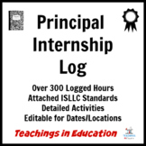 Principal Internship Log Sample