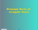 Principal Parts of Irregular Verbs