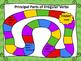 Principal Parts of Irregular Verbs Task Cards, Scoot & Board Game