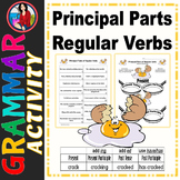 Principal Parts of Regular Verbs Center Activity