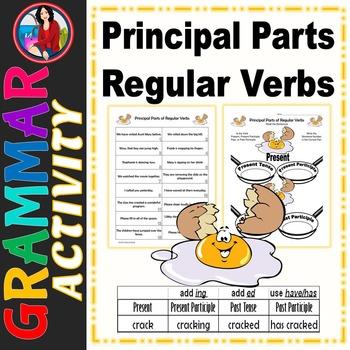 Principal Parts of Regular Verbs Center Activity