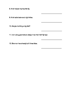Principal Parts of Regular Verbs Worksheet