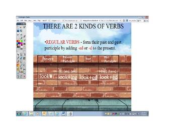 Principal Parts of Verbs ActivInspire