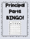 Principal Parts of Verbs BINGO!