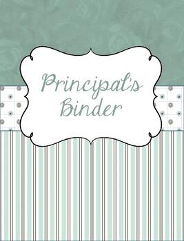 Principal and/or Assistant Principal Binder