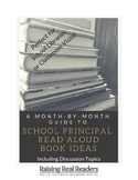 Principal or Guest Reader Monthly Guide of Book Ideas