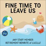 Retirement Song Lyrics for Lucille